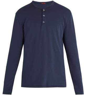 Barena Venezia - Henley Cotton Top - Mens - Navy