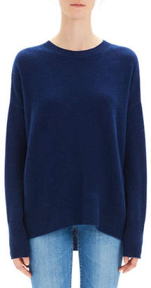 Theory Karenia Cashmere Crewneck Pullover Sweater