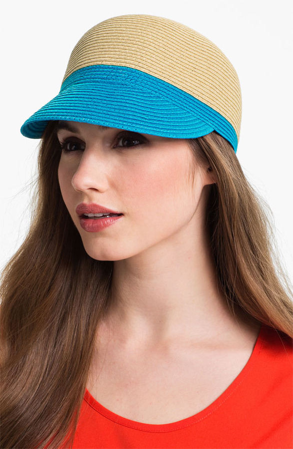 Collection XIIX Colorblocked Woven Cap