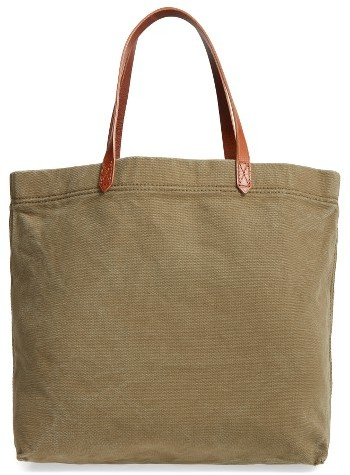 Madewell Canvas Transport Tote - Green