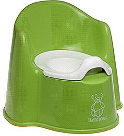 BabyBjorn Potty Chair - Green