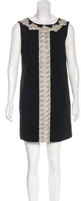 Tibi Wool Mini Dress