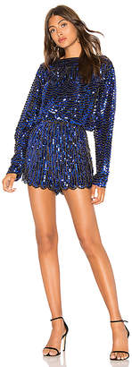Endless Rose Sequin Romper