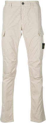 Stone Island classic fitted chinos