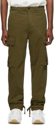 Acne Studios Khaki Pat Cargo Pants