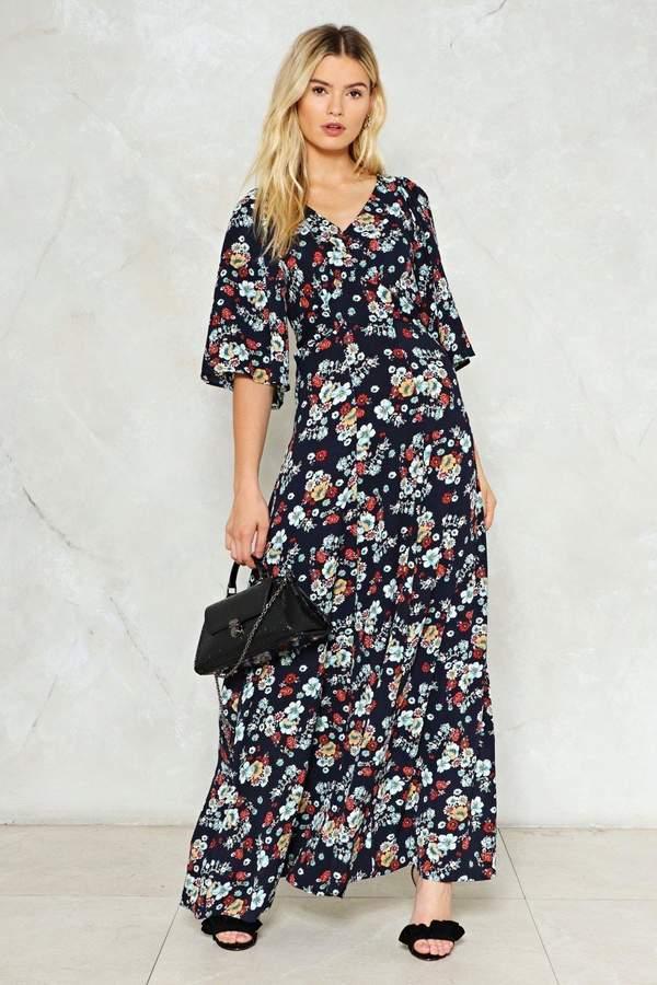 nastygal Summer Soft Floral Dress