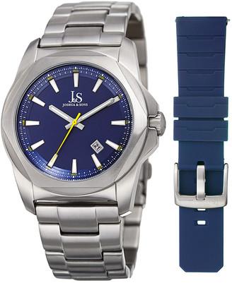 Joshua & Sons Men's Stainless Steel Watch