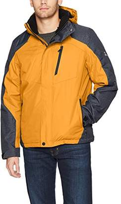ZeroXposur Men's Beacon Insulated Grid Dobby Mid-Weight Jacket