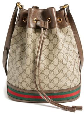 Gucci Ophidia GG Supreme Bucket Shoulder Bag