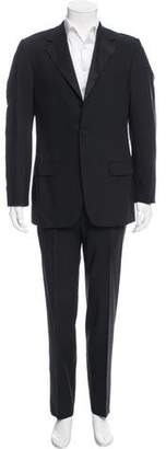 Gucci Satin-Trimmed Wool Tuxedo Pants