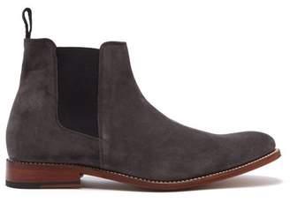 Grenson Declan Suede Chelsea Boots - Mens - Grey