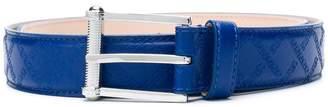 Versace embossed buckle belt