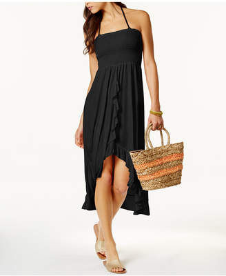 Raviya Smocked Tube Dress Cover-Up Women's Swimsuit $29.99 thestylecure.com