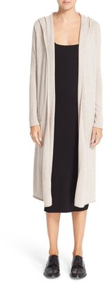 Women's Autumn Cashmere Hooded Midi Cashmere Cardigan $374 thestylecure.com