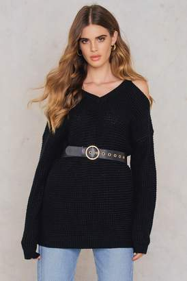 Rut & Circle Rut&Circle Luna cold shoulder knit
