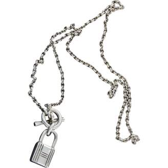 Hermes Silver necklace