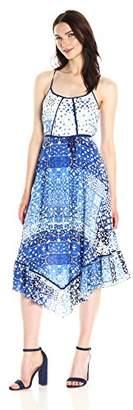 Plenty by Tracy Reese Women's Scarf Hem Dress