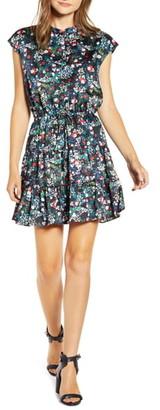Rebecca Minkoff Ollie Floral Tiered Hem Dress