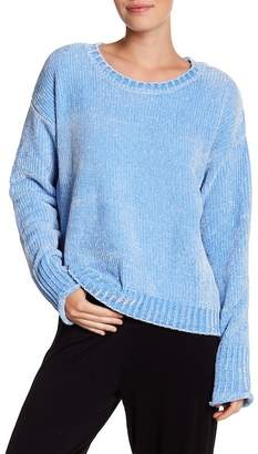 PJ Salvage Ribbed Knit Chenille Pullover