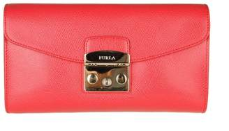 Furla Pochette Metropolis S In Skin Color Red