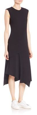 DKNY Asymmetrical Layered Dress $358 thestylecure.com