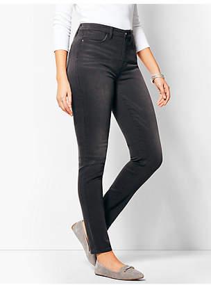 Talbots Comfort Stretch Denim Jeggings - Curvy Fit/Steel Grey