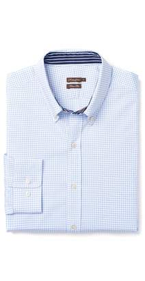 J.Mclaughlin Westend Trim Fit Shirt in Mini Check