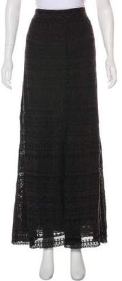 Isabel Marant Embroidered Maxi Skirt
