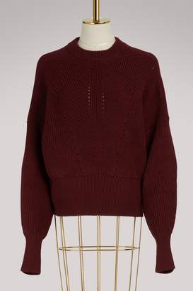 Isabel Marant Lonnyl cotton and wool sweater