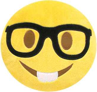 Kids Preferred Large Emoji Nerd Face Pillow