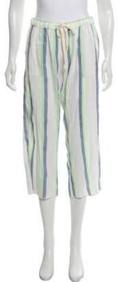 Lemlem Cropped Striped Pants