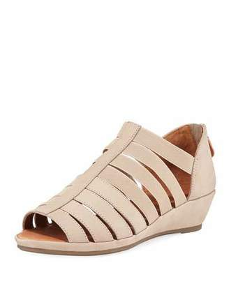 Gentle Souls Lana Caged Nubuck Leather Sandals