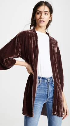 Nation Ltd. Winslow Velvet Bed Jacket