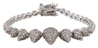 Eddie Borgo Graduated Crystal Pavé Cone Bracelet