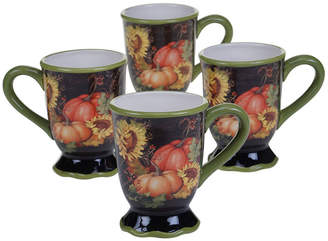 Certified International 4-pc. Coffee Mug