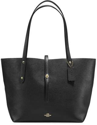 Coach Polished Pebble Leather Market Tote