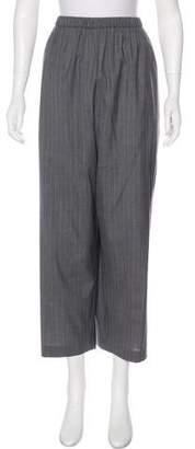 eskandar Wool & Cashmere High-Rise Pants