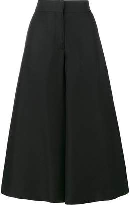 Valentino cropped wide-leg trousers