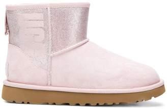 UGG classic mini logo sparkle boots