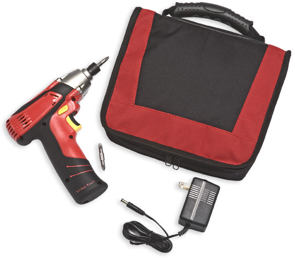 8-Volt Impact Drill by Tomboy Tools
