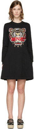 Kenzo Black Chinese New Year Tiger Dress $380 thestylecure.com