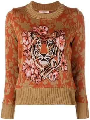 Twin-Set Tiger jumper