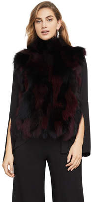 BCBGMAXAZRIA Hudson Fur Vest