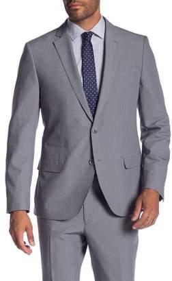 Co SAVILE ROW Avedon Grey Two Button Notch Lapel Slim Fit Bi-Stretch Jacket