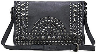 Patricia Nash Burnished Boho Studded Collection Preselle Flap Cross-Body Bag $199 thestylecure.com