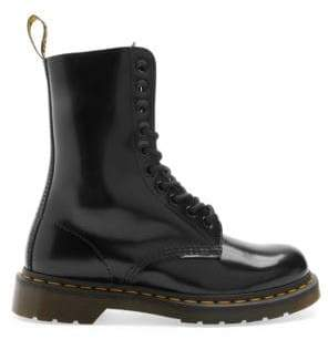 Marc Jacobs Dr. Martens x Leather Lace-Up Boots