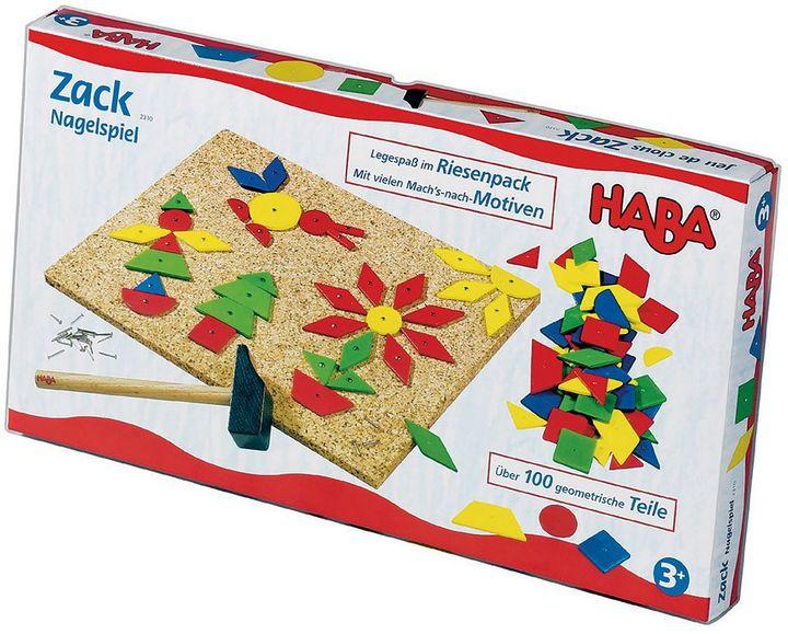 HabaHABA Large Geo Shape Tack Zap