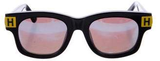 House of Holland Reflective Resin Sunglasses