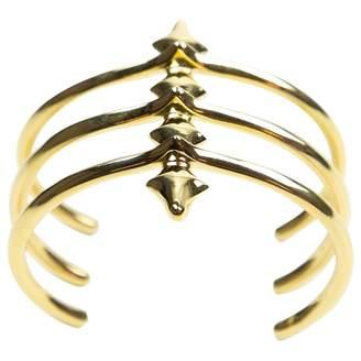 Jennifer Fisher Gold Metal Bracelet