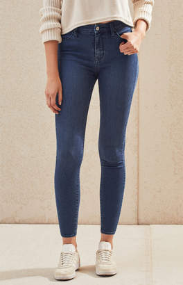 Pacsun Tango Blue Super High Rise Jeggings